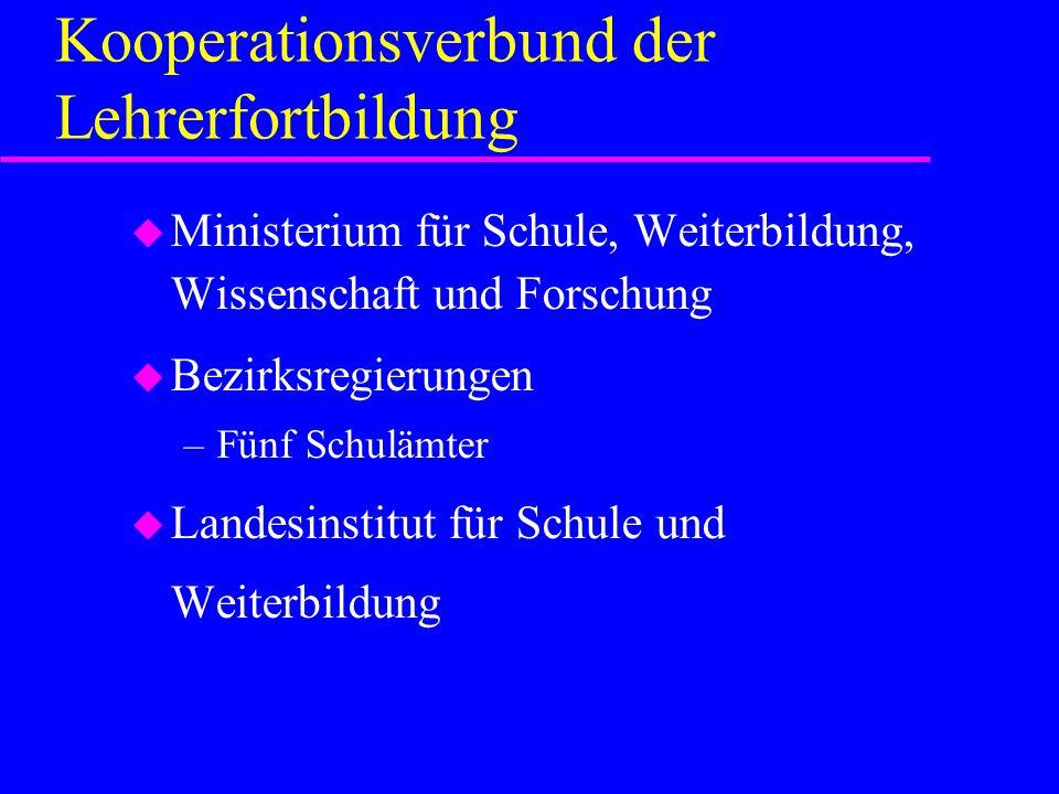 Kooperationsverbund der Lehrerfortbildung