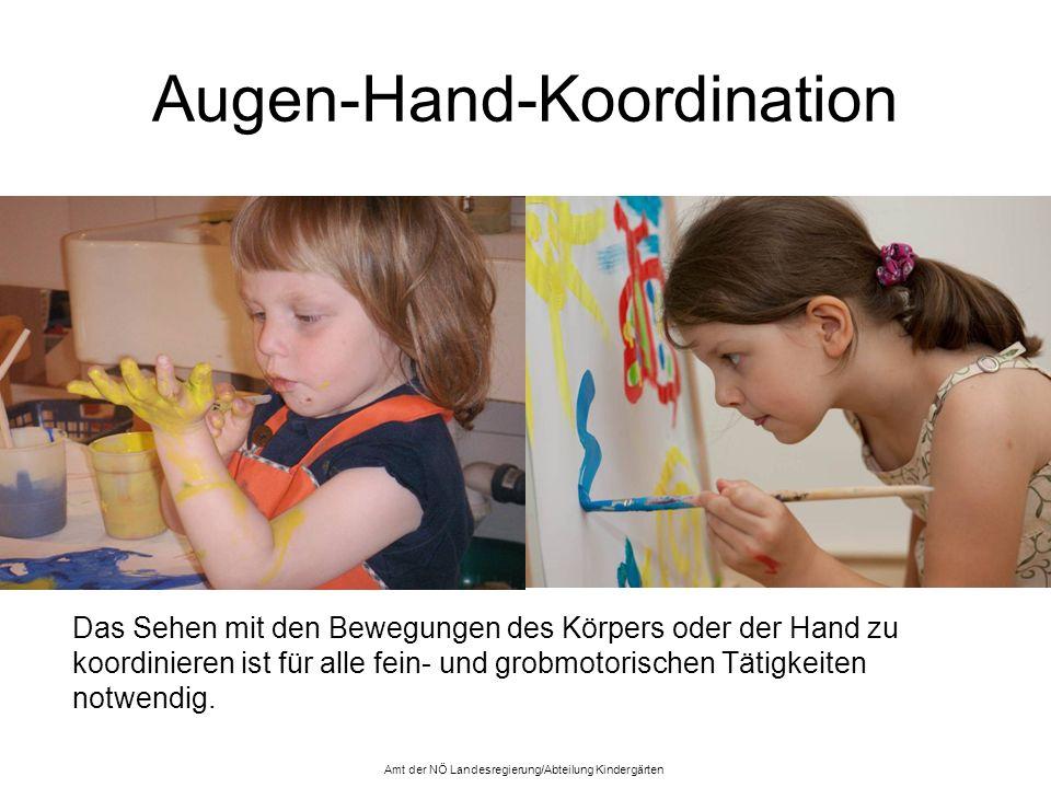 Augen-Hand-Koordination