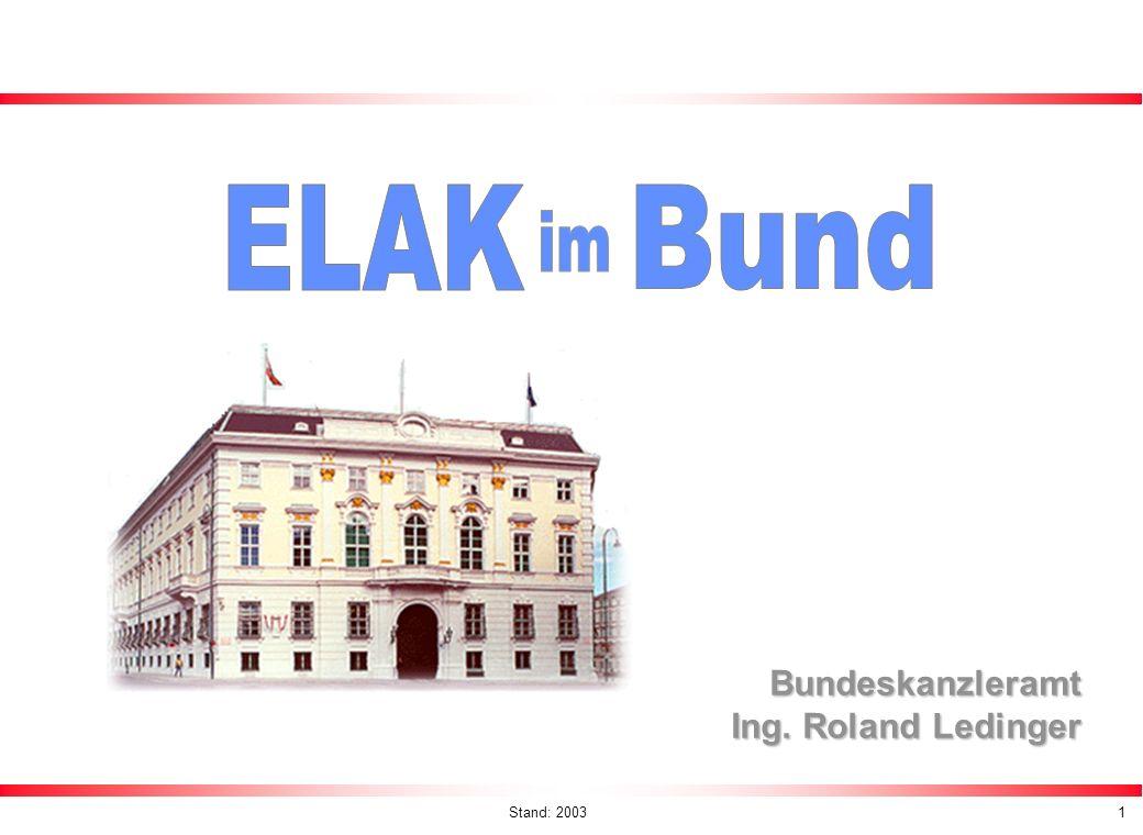 Bundeskanzleramt Ing. Roland Ledinger