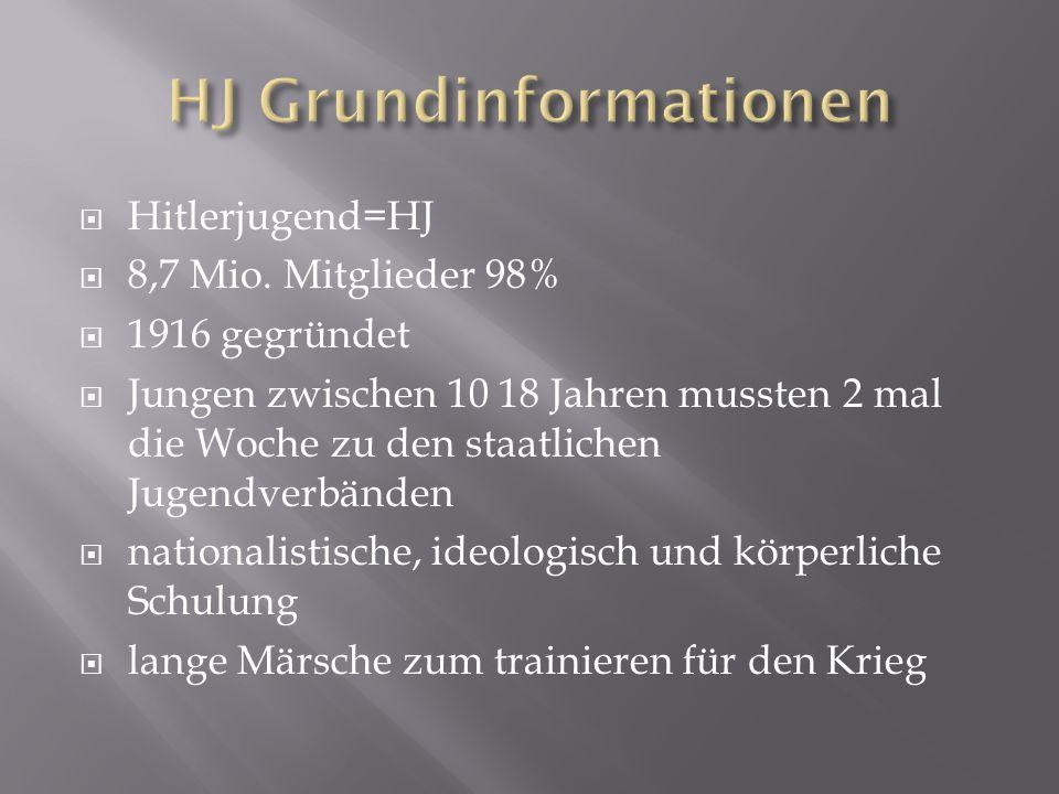 HJ Grundinformationen