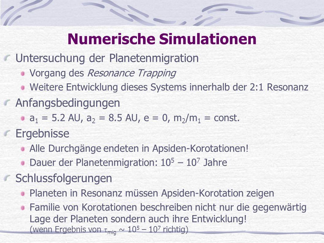 Numerische Simulationen
