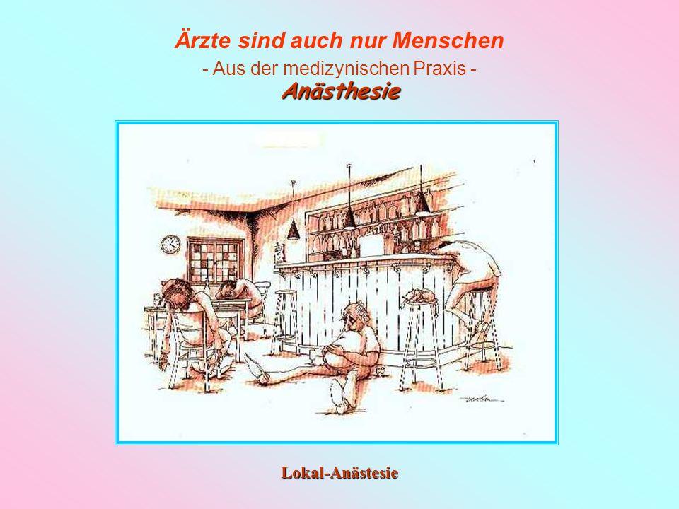 Anästhesie Lokal-Anästesie