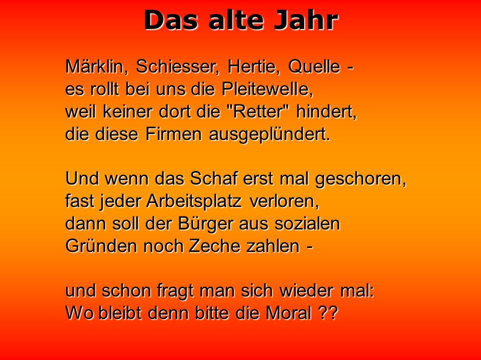 Märklin, Schiesser, Hertie, Quelle -