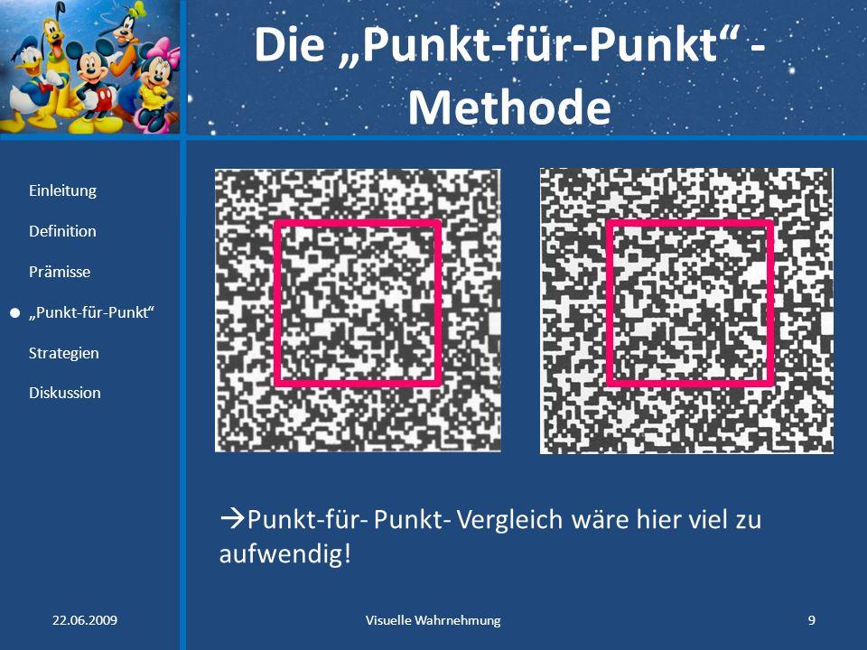 """Die """"Punkt-für-Punkt -Methode"""