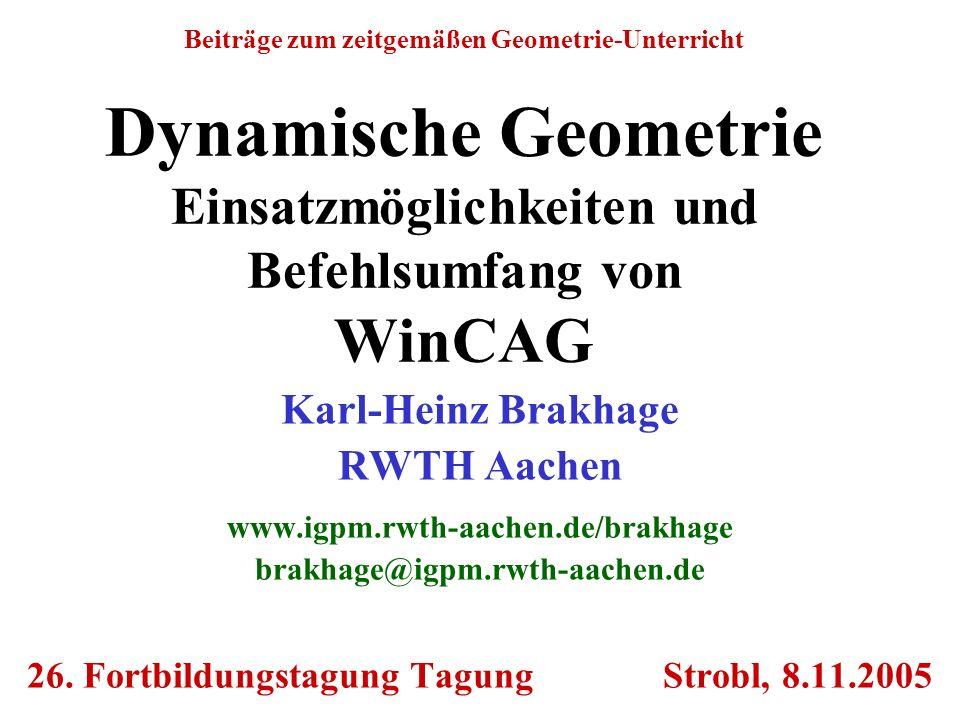 26. Fortbildungstagung Tagung Strobl, 8.11.2005
