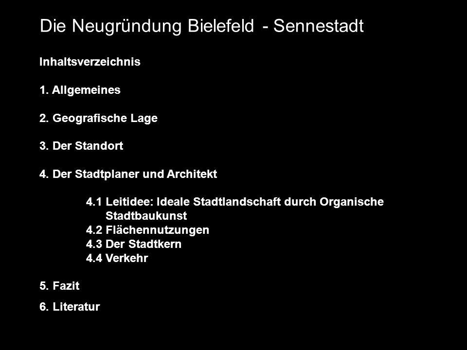 Die Neugründung Bielefeld - Sennestadt
