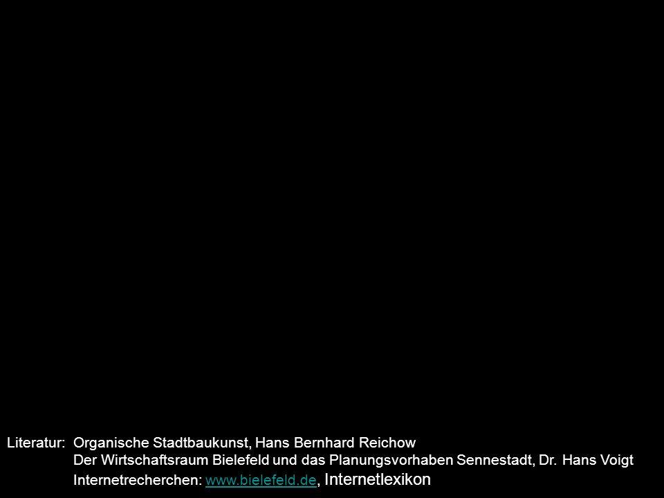 Literatur:. Organische Stadtbaukunst, Hans Bernhard Reichow