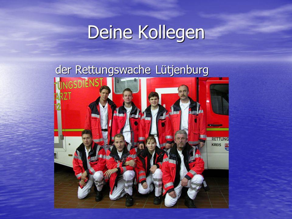 der Rettungswache Lütjenburg