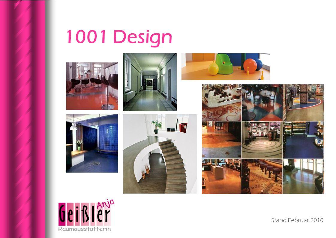 1001 Design Stand Februar 2010