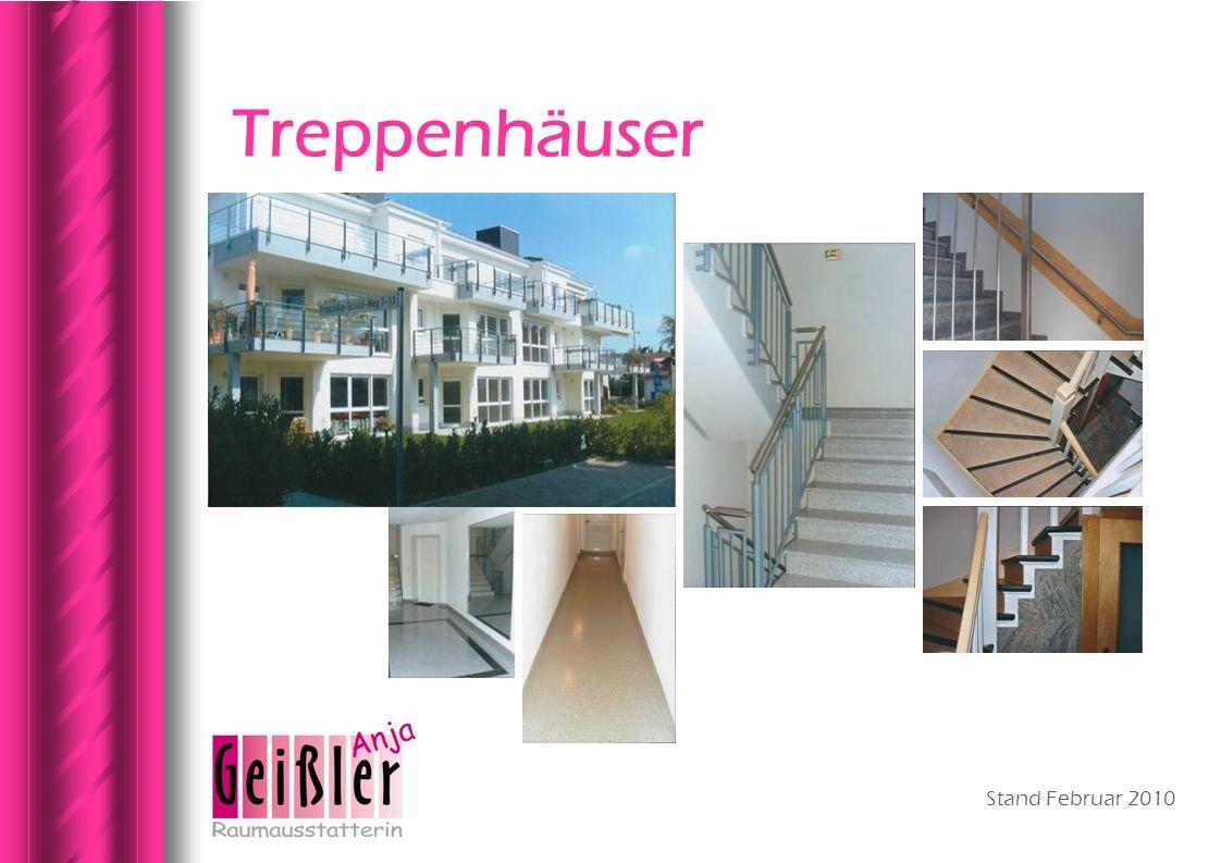 Treppenhäuser Stand Februar 2010
