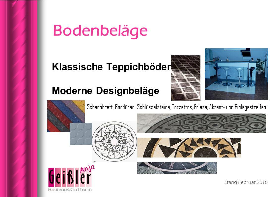 Bodenbeläge Klassische Teppichböden Moderne Designbeläge