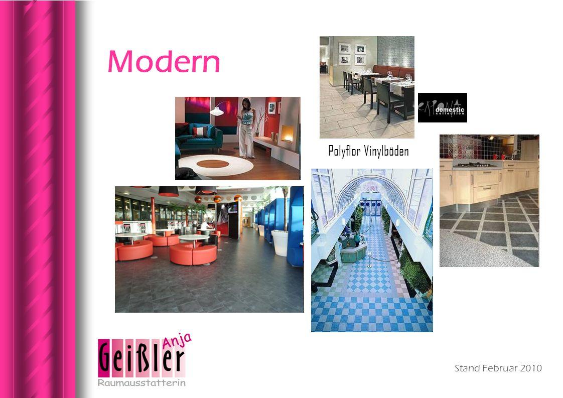 Modern Polyflor Vinylböden Stand Februar 2010