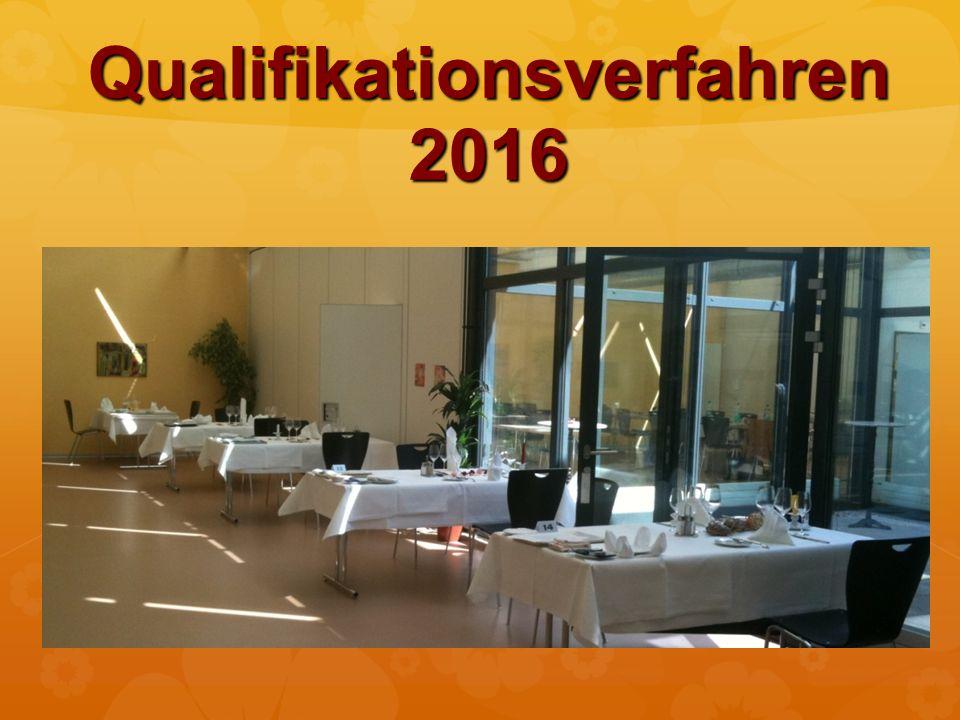 Qualifikationsverfahren 2016