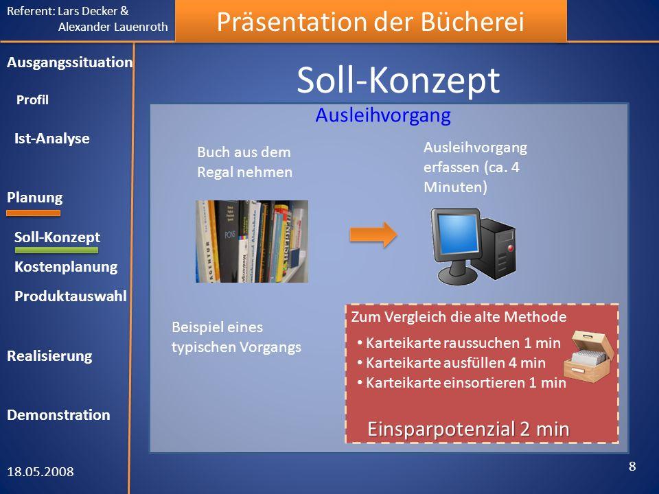 Soll-Konzept Ausleihvorgang Einsparpotenzial 2 min