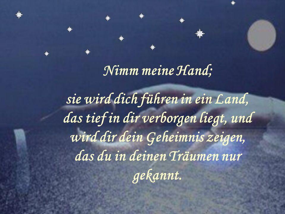 Nimm meine Hand;
