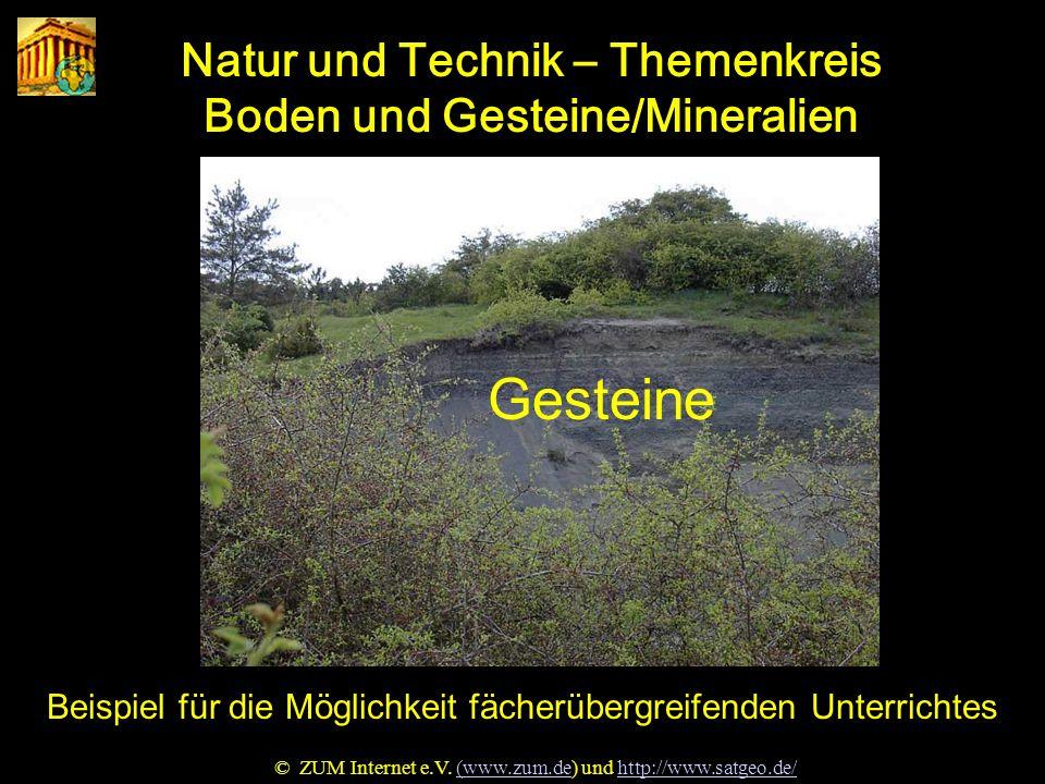 Natur u. Technik Gesteine