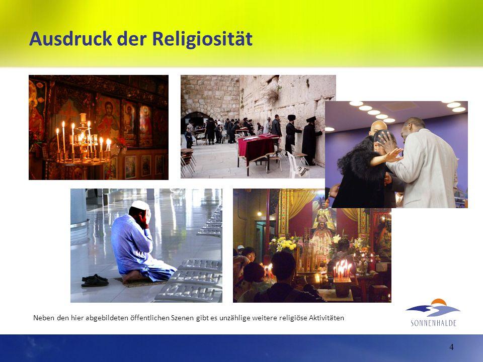 Ausdruck der Religiosität