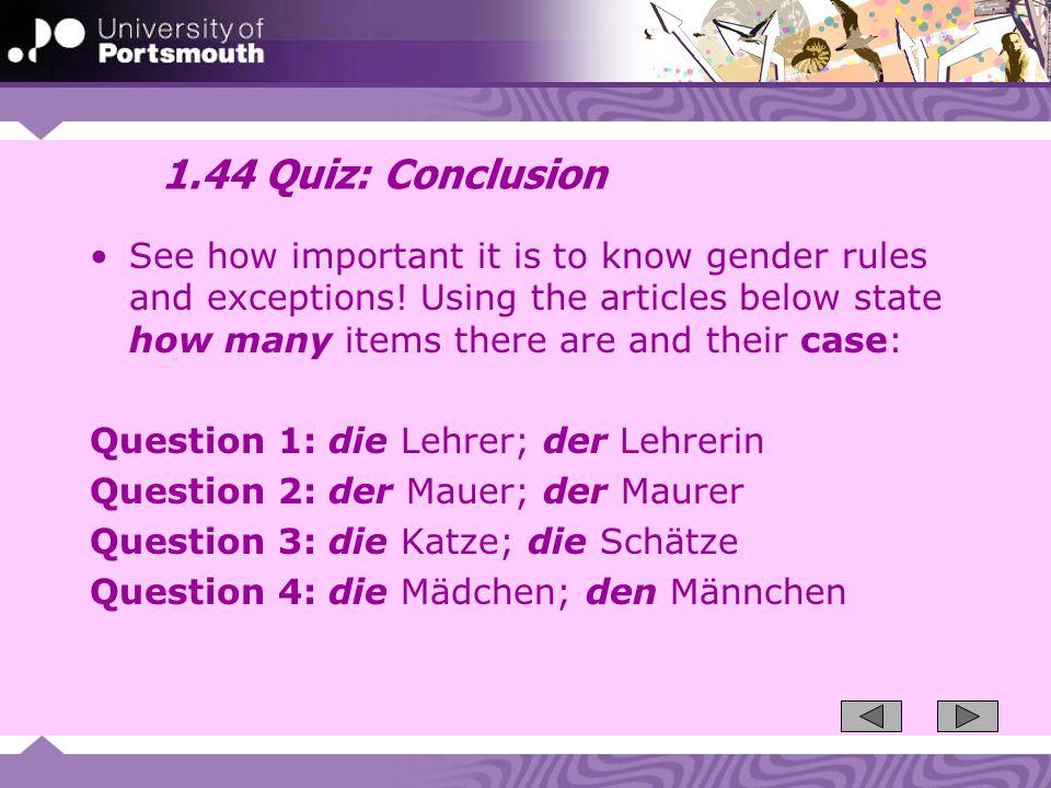 1.44 Quiz: Conclusion