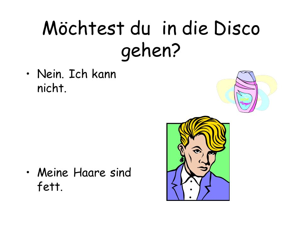 Möchtest du in die Disco gehen