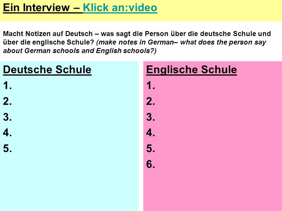 Ein Interview – Klick an:video