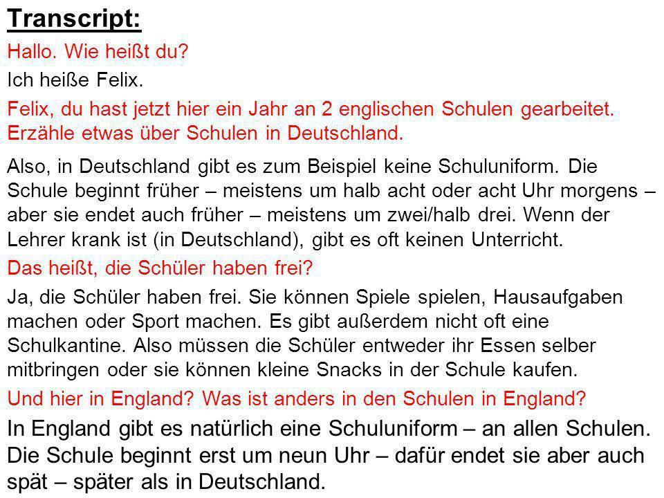 Transcript: