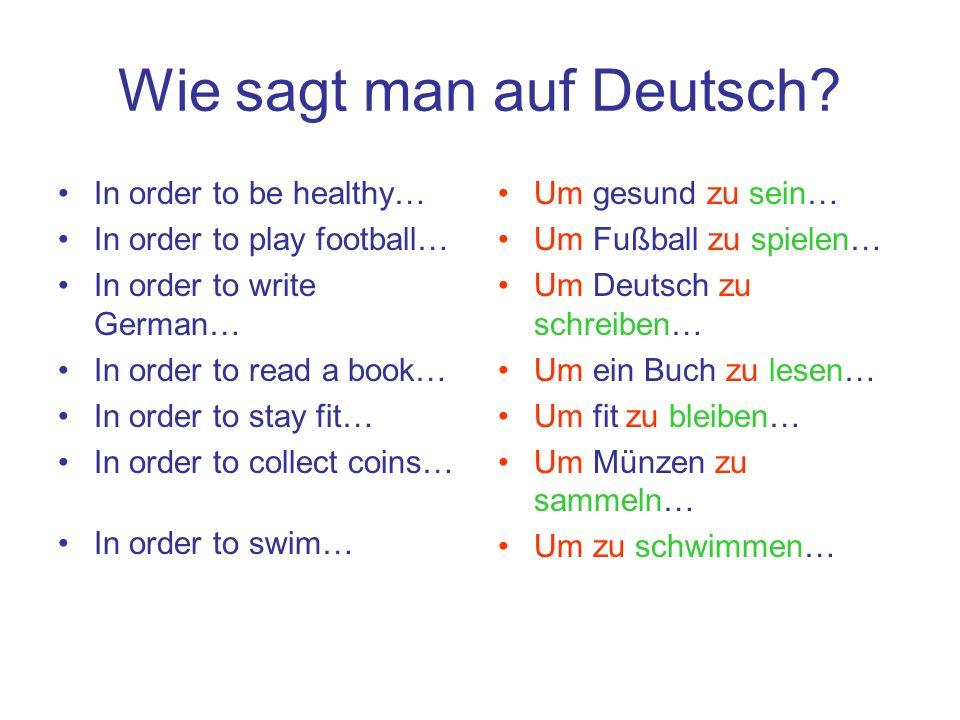 Wie sagt man auf Deutsch