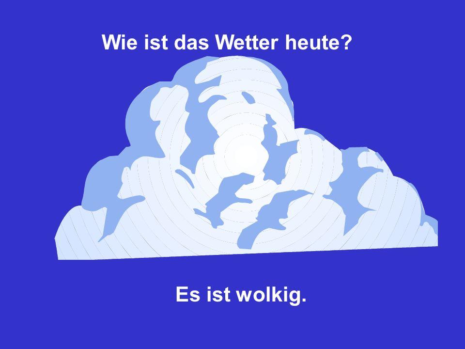 Wie ist das Wetter heute