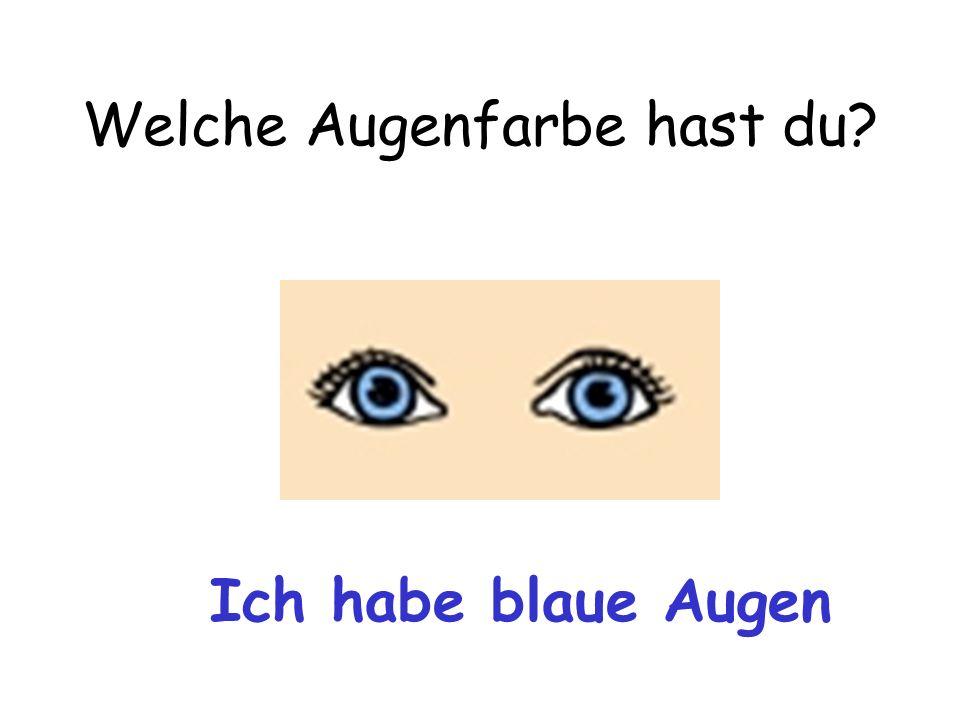Welche Augenfarbe hast du