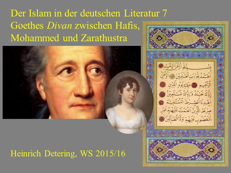 Der Islam in der deutschen Literatur 7