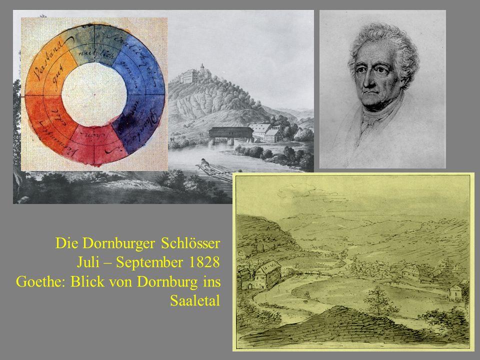 Die Dornburger Schlösser