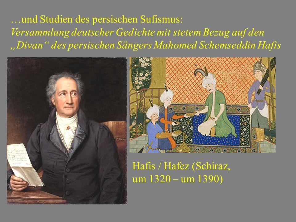 …und Studien des persischen Sufismus: