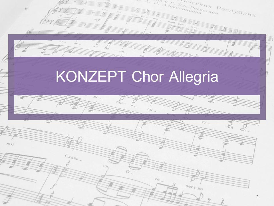 KONZEPT Chor Allegria