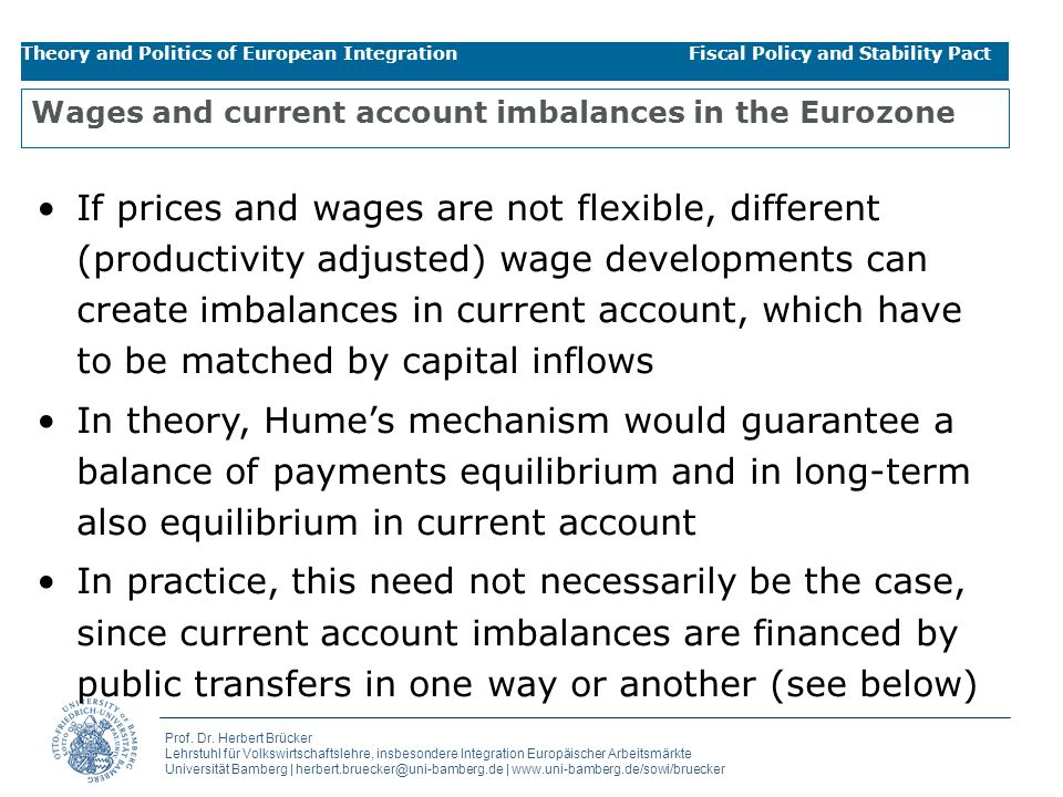 Wages and current account imbalances in the Eurozone