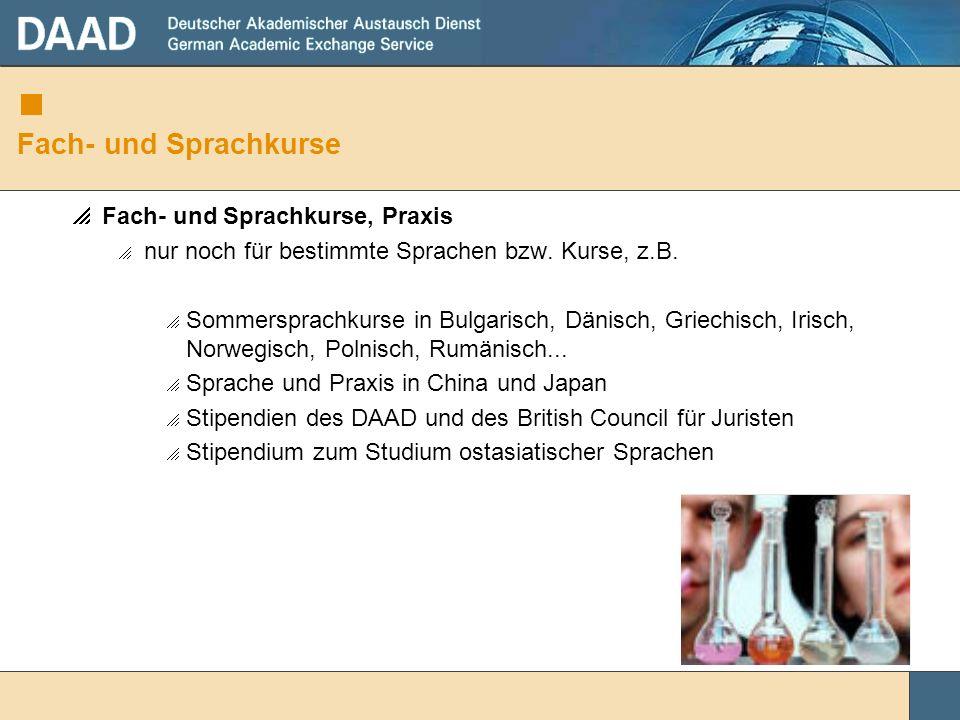 Fach- und Sprachkurse Fach- und Sprachkurse, Praxis