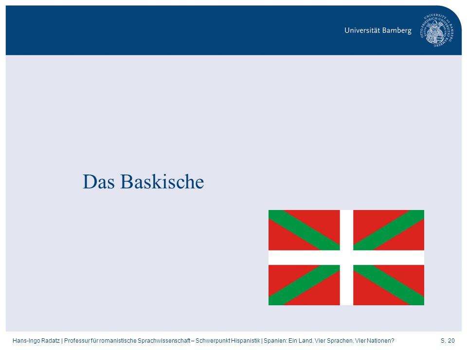 Das Baskische