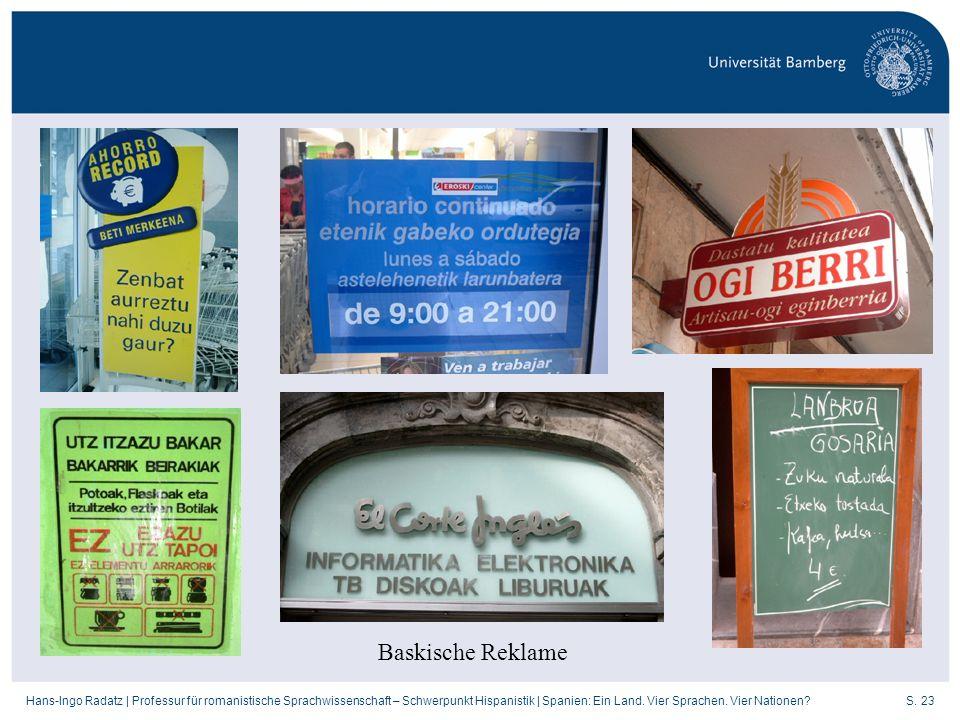 Baskische Reklame