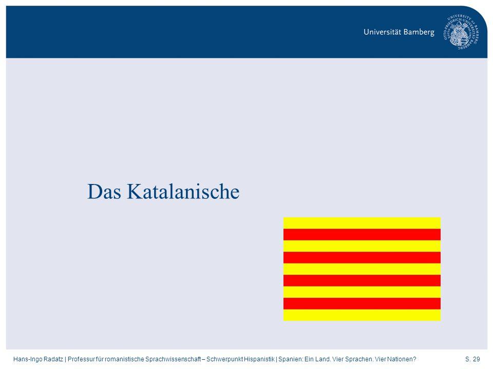 Das Katalanische