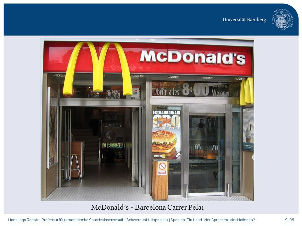 McDonald's - Barcelona Carrer Pelai