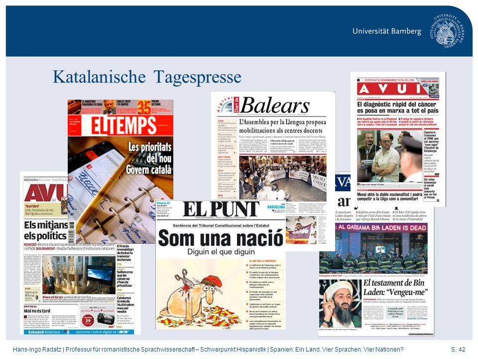 Katalanische Tagespresse