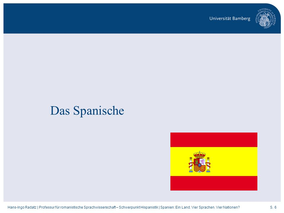 Das Spanische