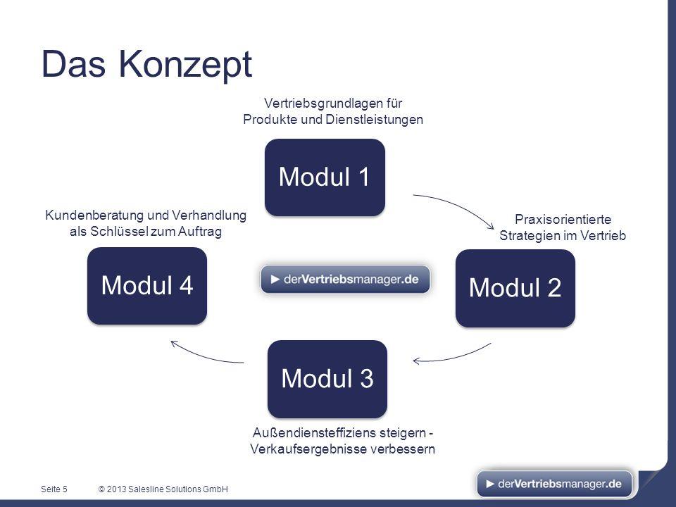 Das Konzept Modul 1 Modul 4 Modul 2 Modul 3