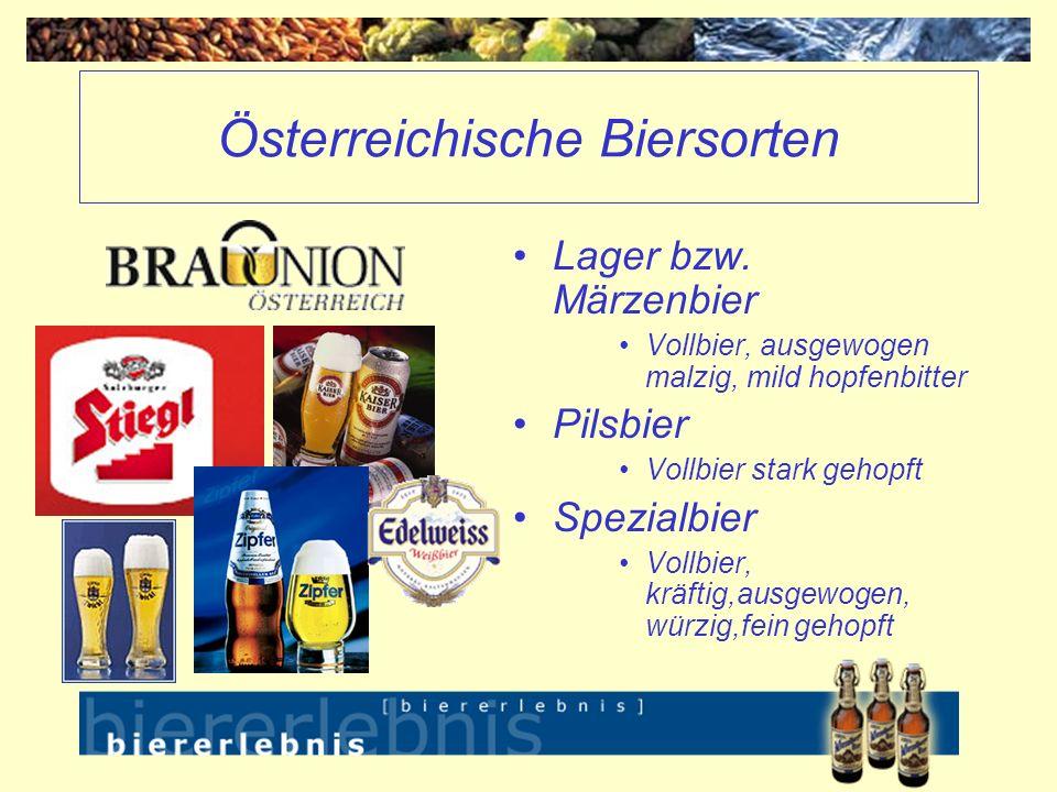 Österreichische Biersorten