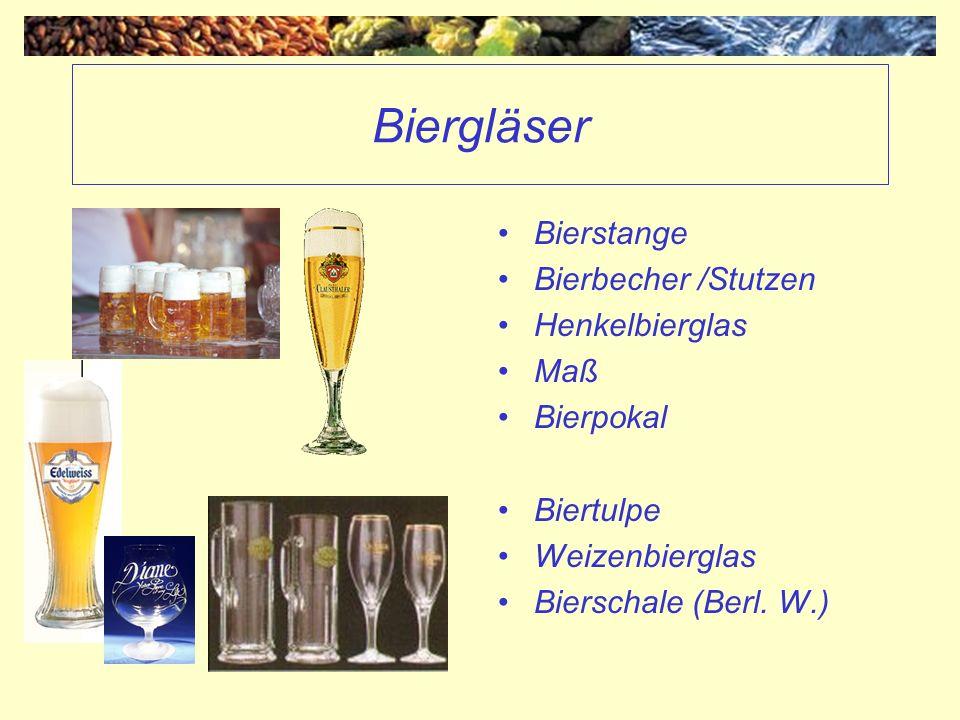 Biergläser Bierstange Bierbecher /Stutzen Henkelbierglas Maß Bierpokal