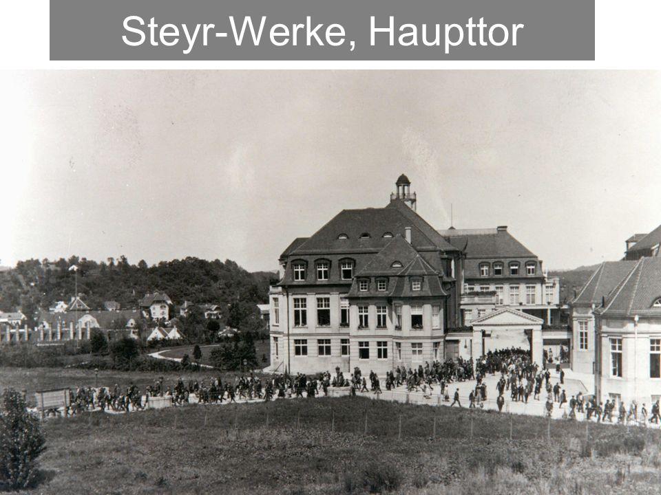 Steyr-Werke, Haupttor