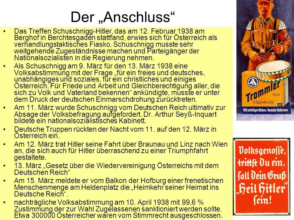 "Der ""Anschluss"