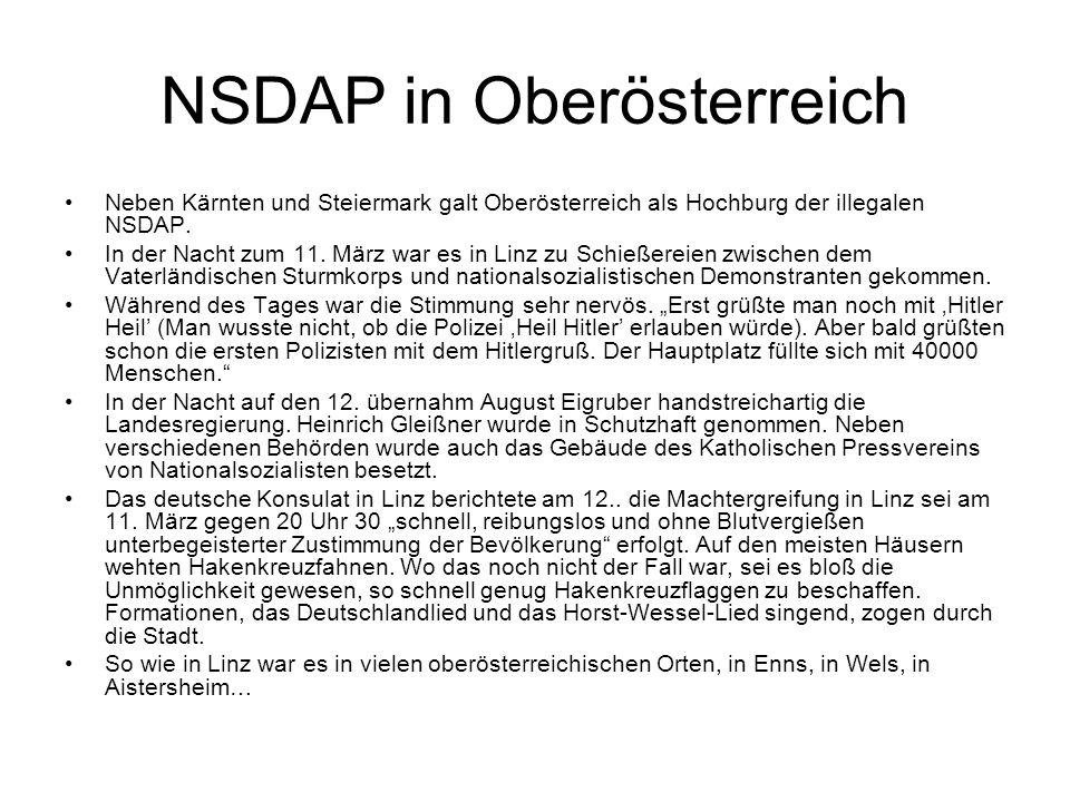 NSDAP in Oberösterreich