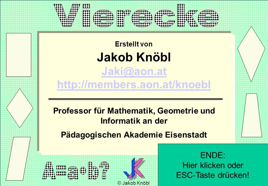 Erstellt von Jakob Knöbl Jaki@aon.at http://members.aon.at/knoebl