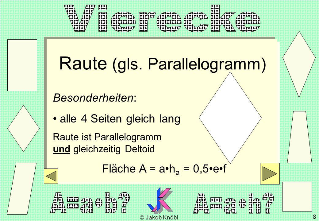 Raute (gls. Parallelogramm)