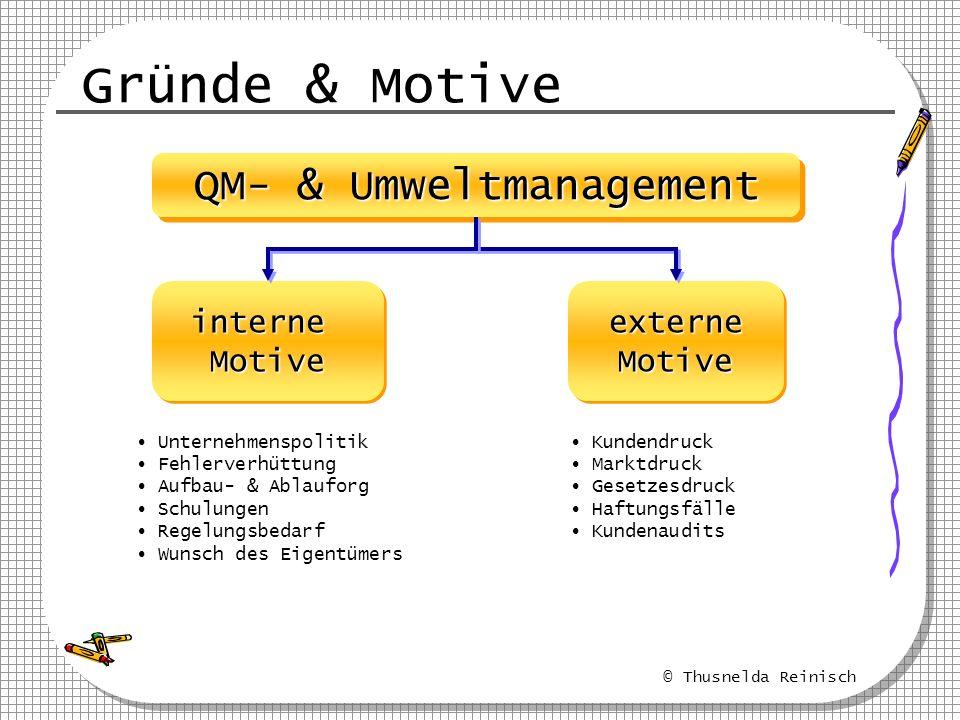 QM- & Umweltmanagement