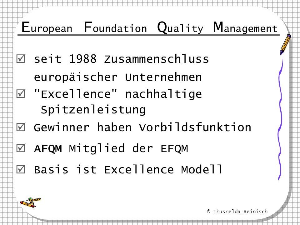 European Foundation Quality Management